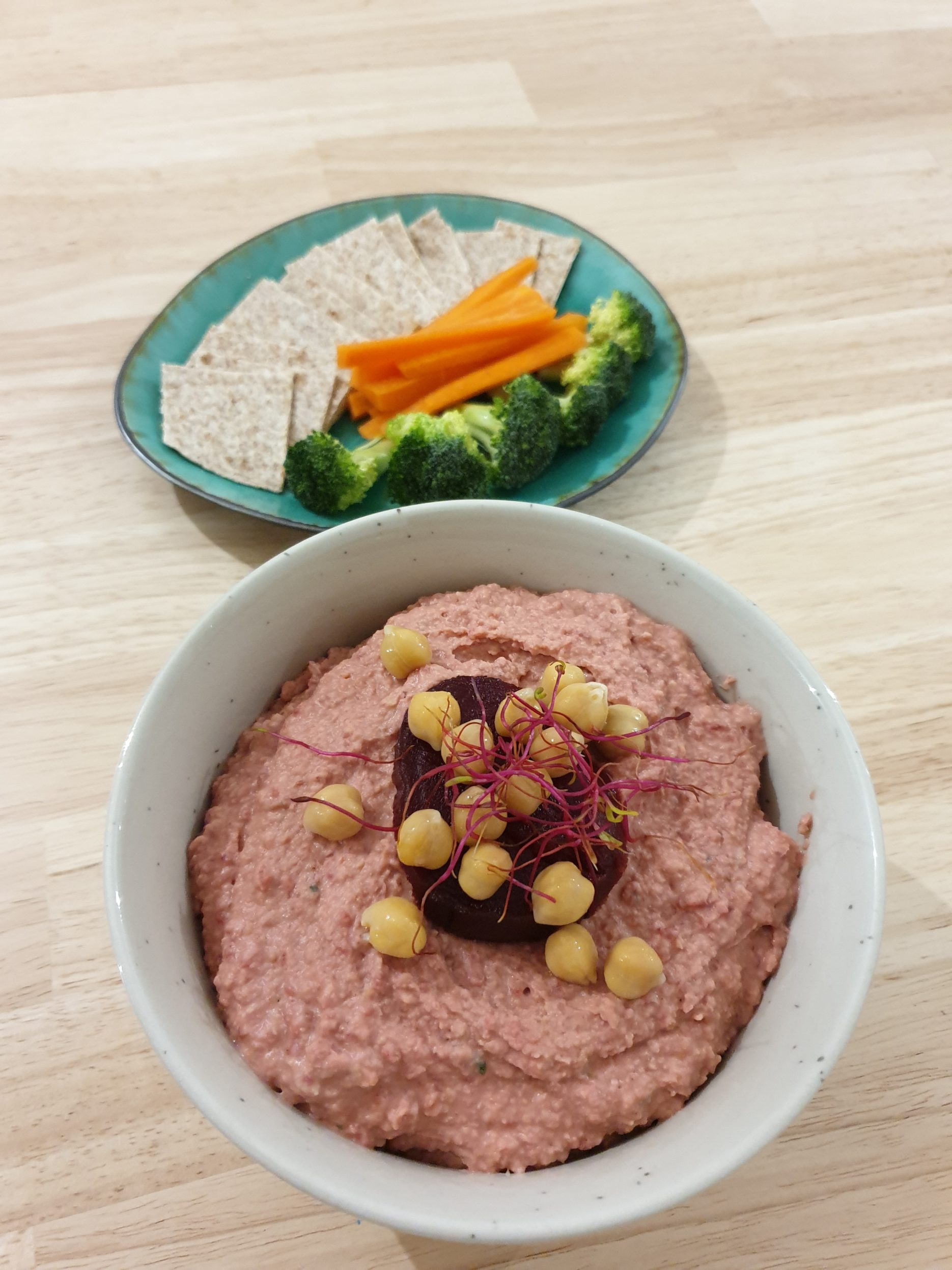 houmous de betterave facile
