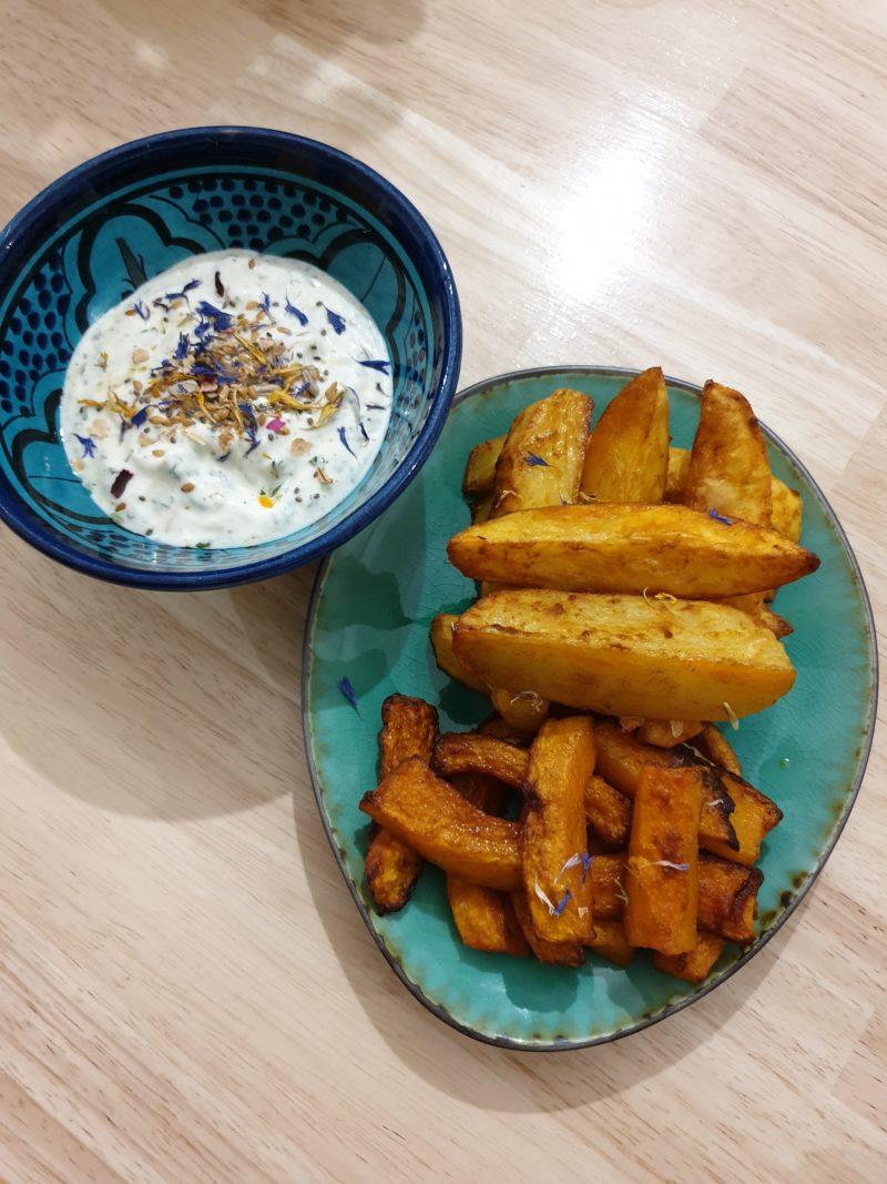 frites au four healthy
