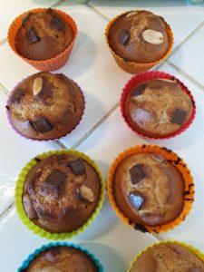 muffins healthy au beurre de cacahuète
