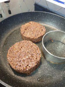 Cerclage steak végétal