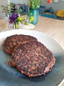 Dégustation steak végétal