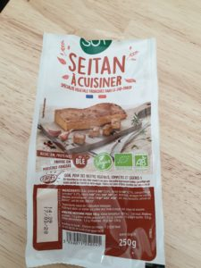 Seitan pour steak végétarien maison