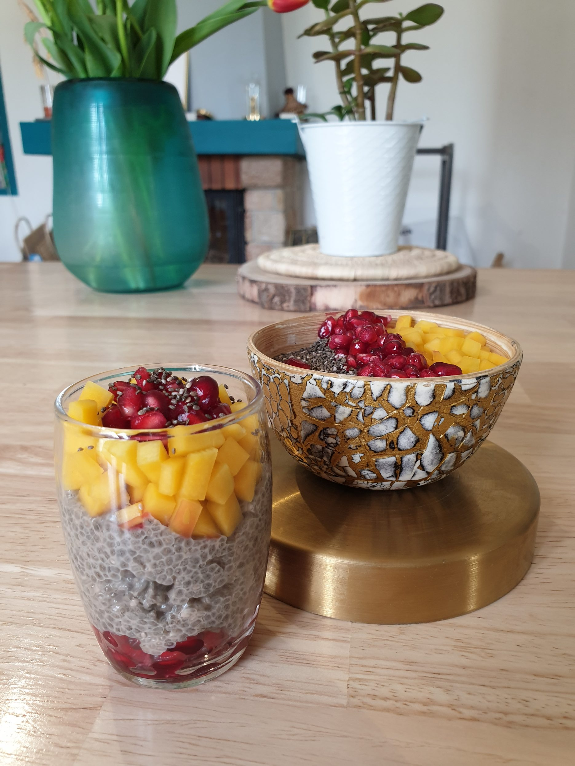 Chia pudding aux fruits