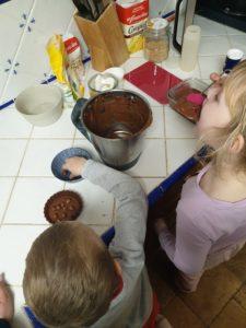 Dégustation brownies sans matière grasse