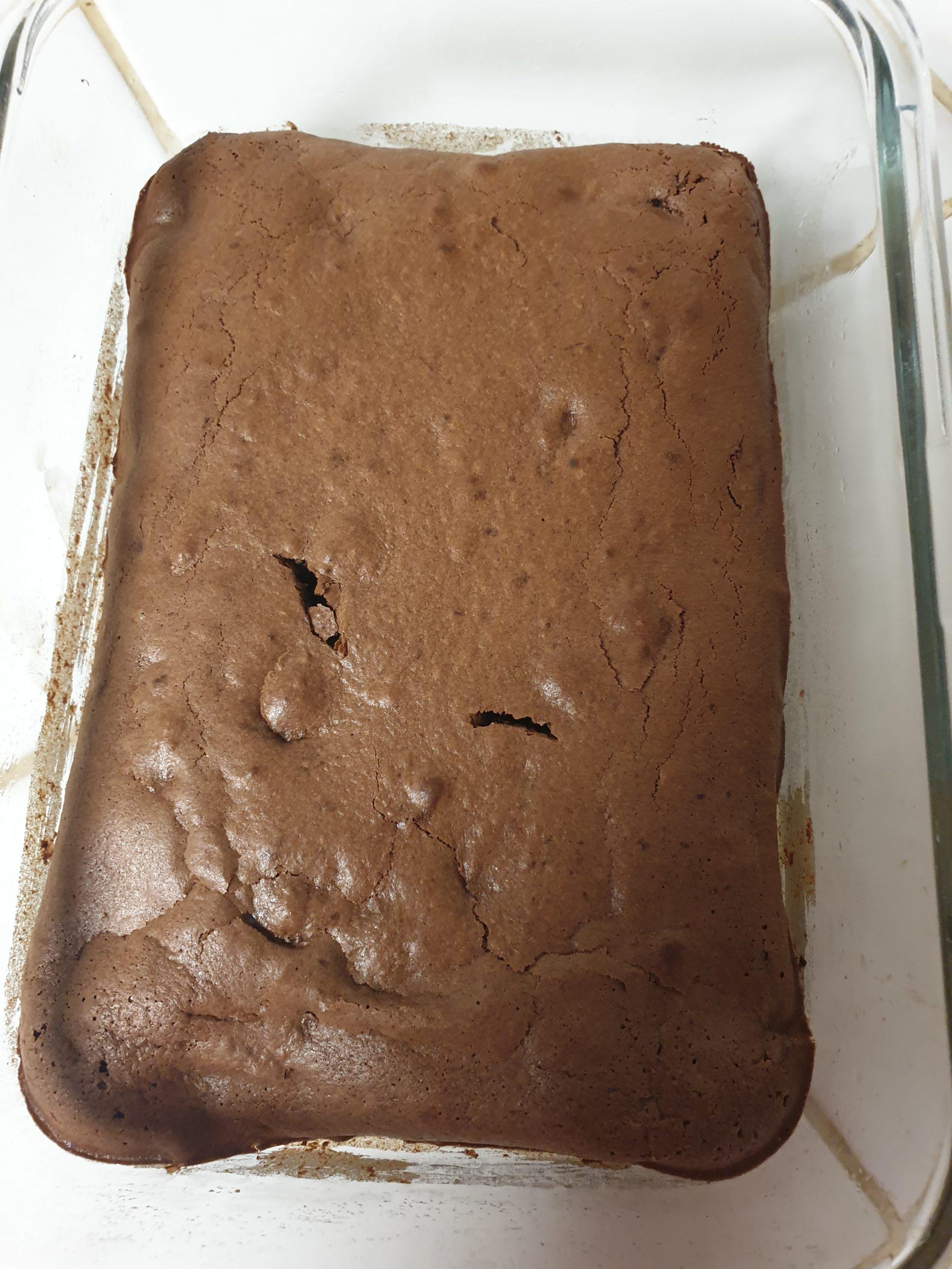 Préparation brownies healthy