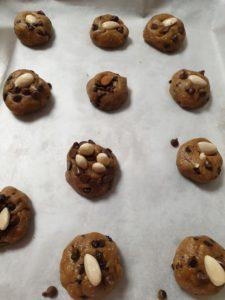 cookies sans beurre au four