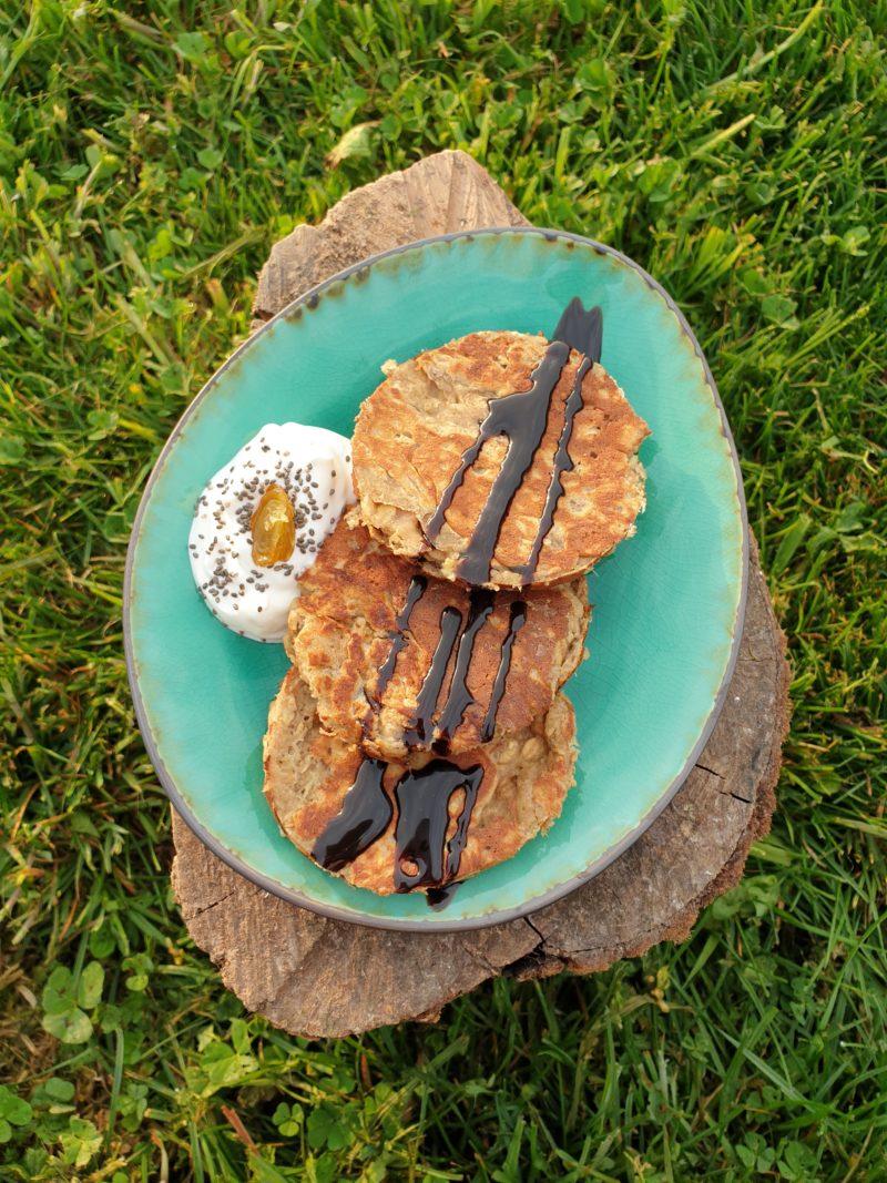 pancakes healthy aux flocons d'avoine