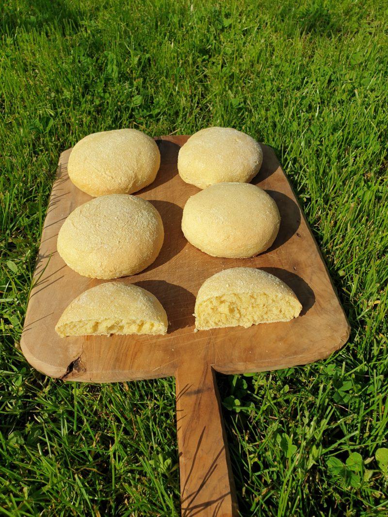 pain à la semoule de blé dur
