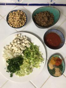 ingrédient harira au tofu