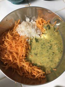Ingrédients tarte à la carotte
