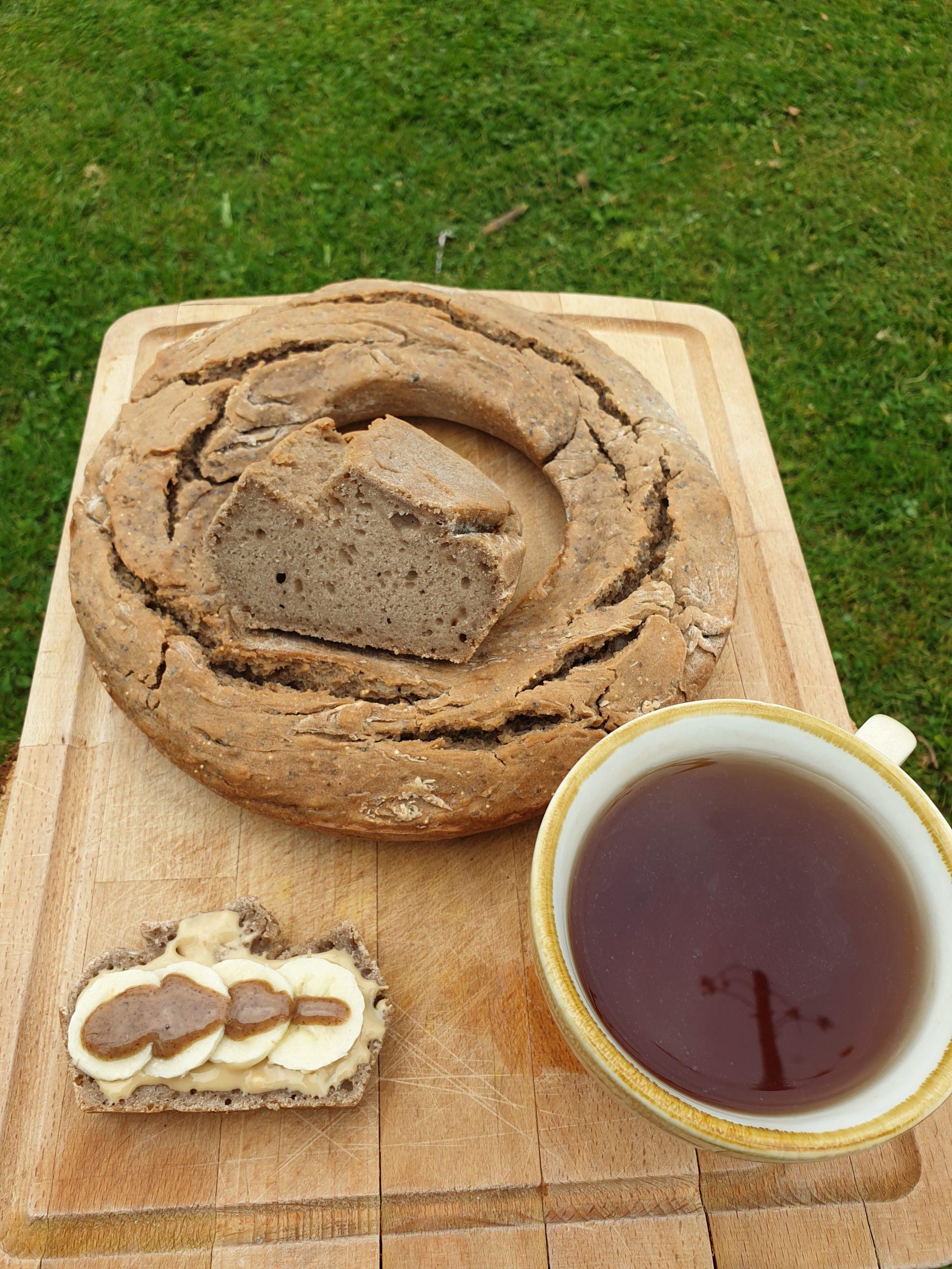 pain au sarrasin sans levée