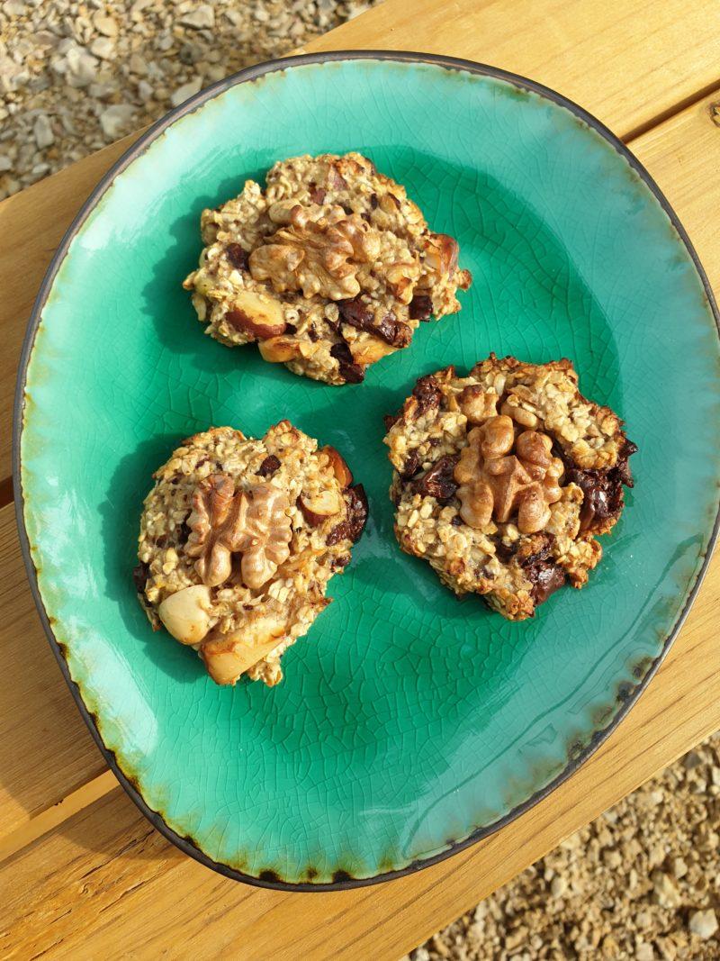 cookies flocons d'avoine et banane