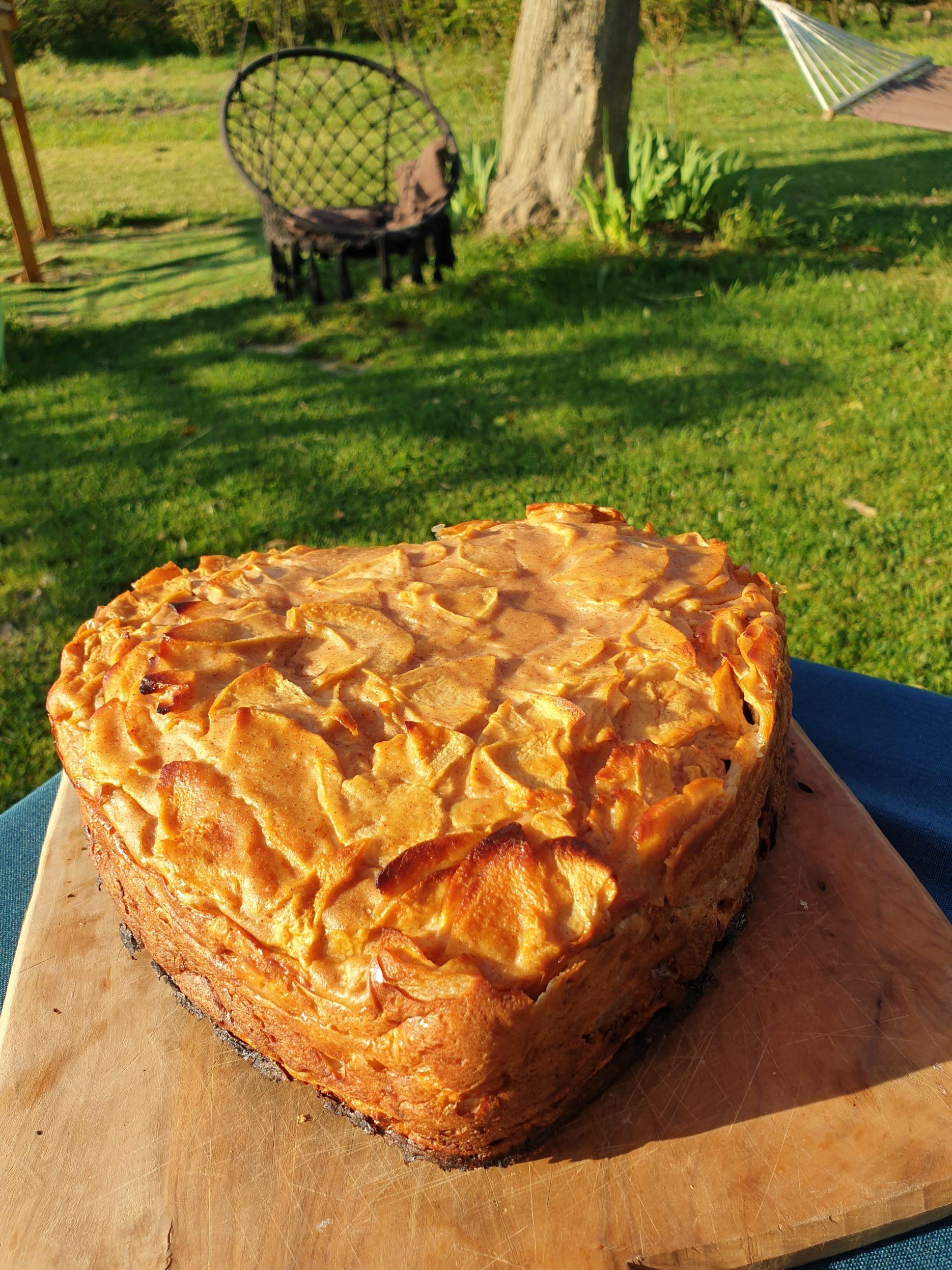 Gâteau pomme cannelle