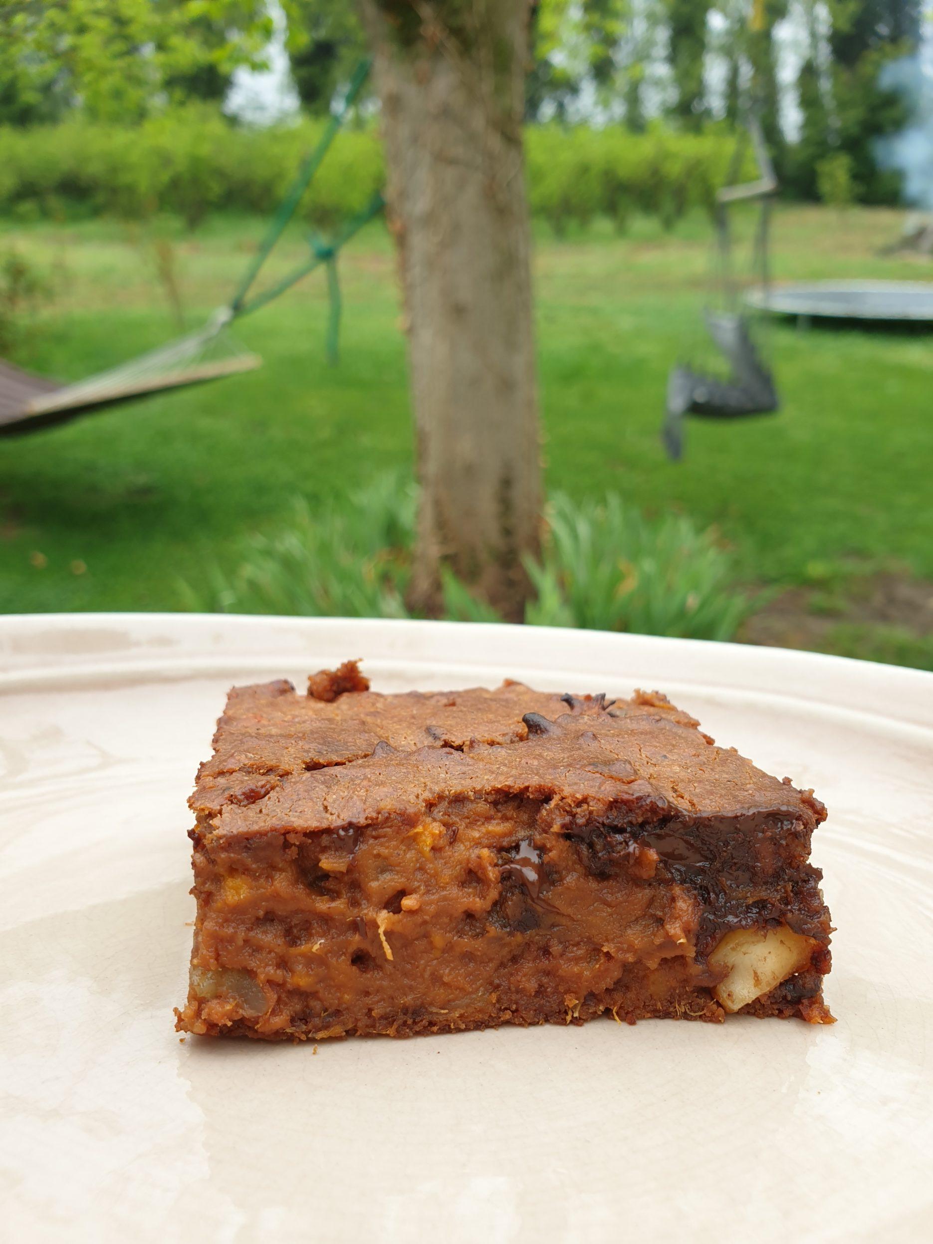 brownie patate douce chocolat