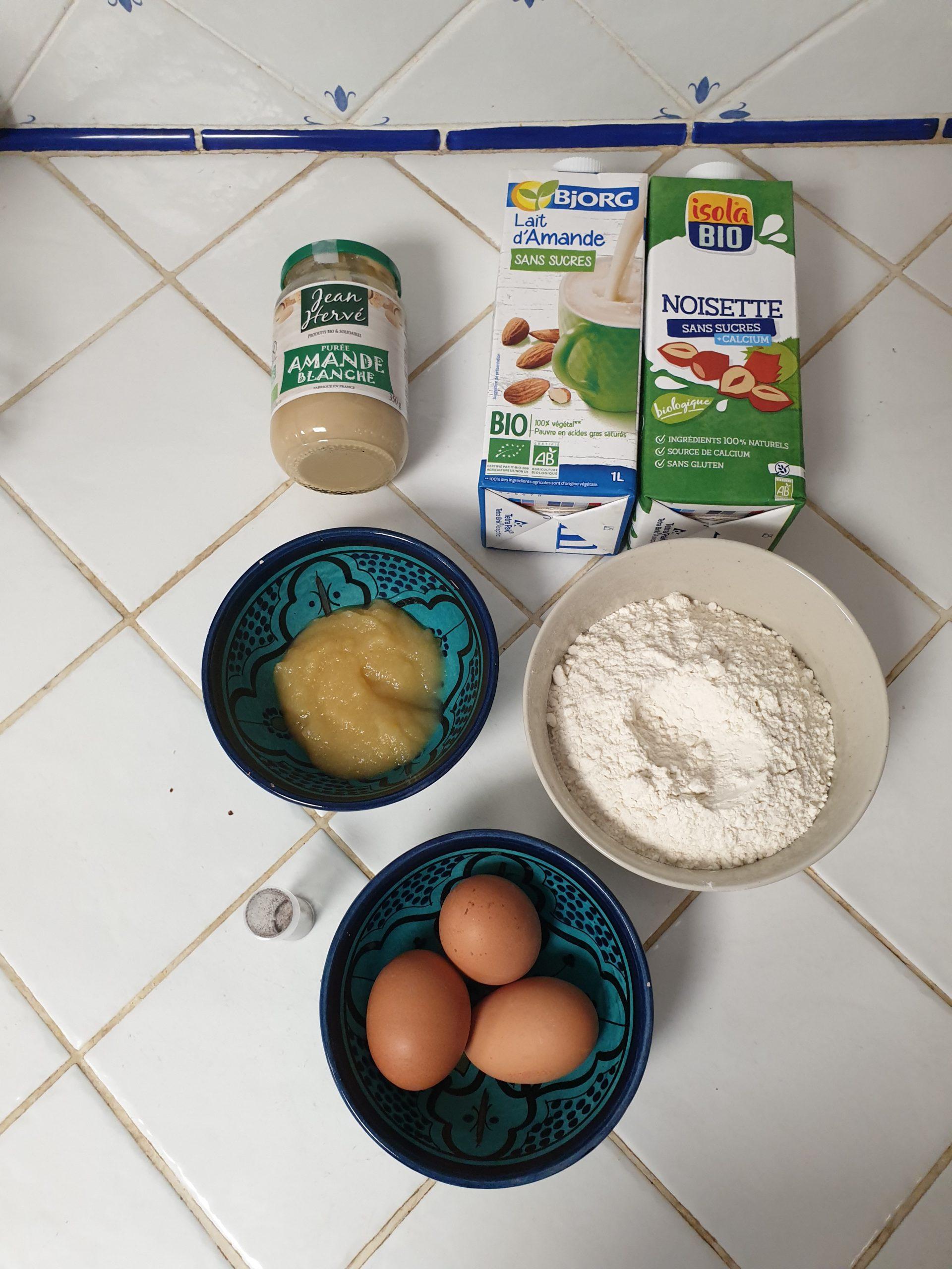 ingrédients crêpes healthy