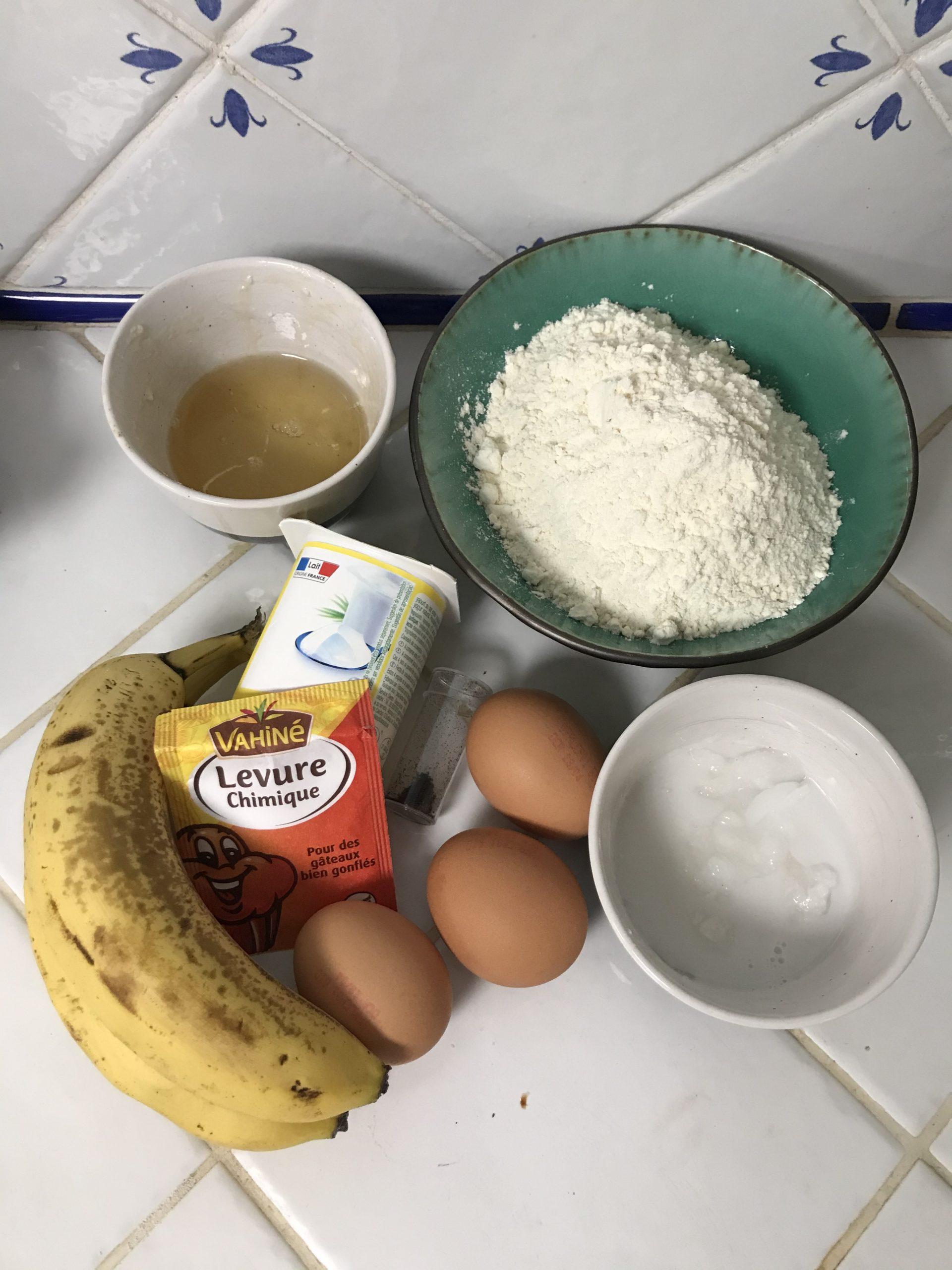 ingrédients gâteau au yaourt
