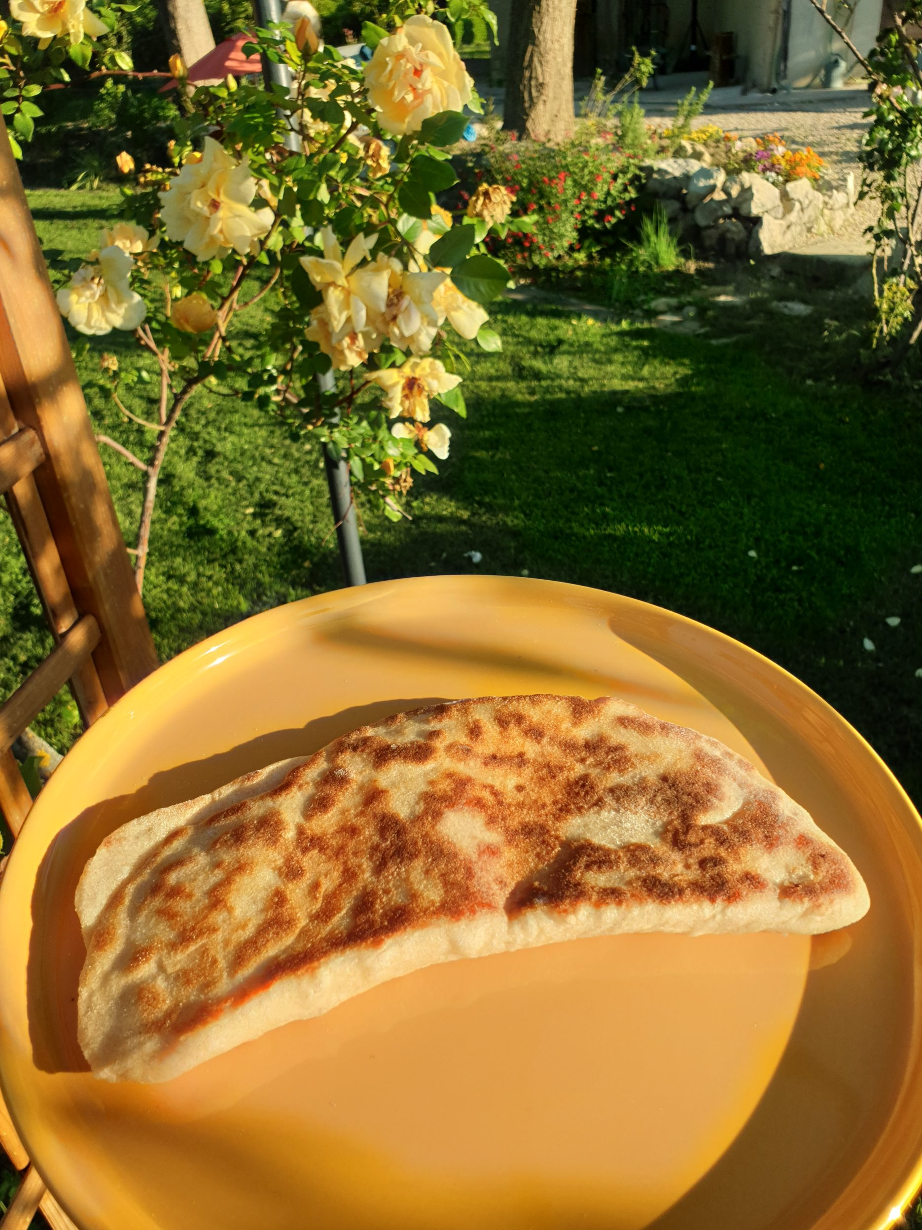 naan fromage facile