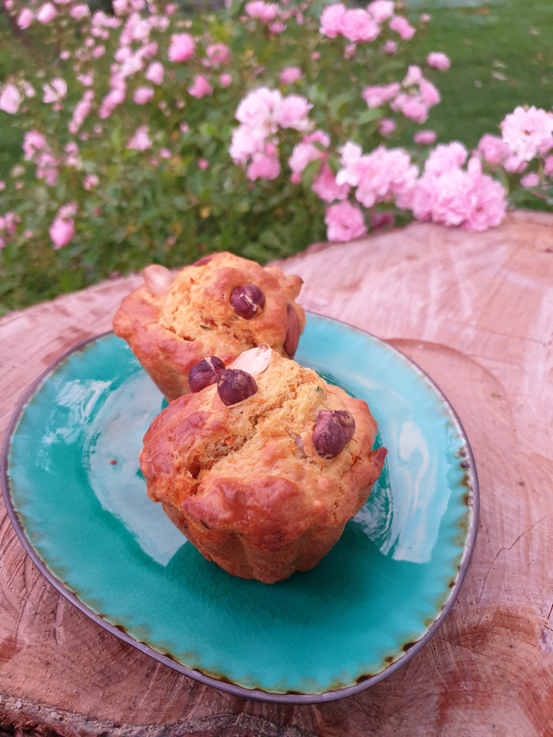 Muffin carotte patate douce