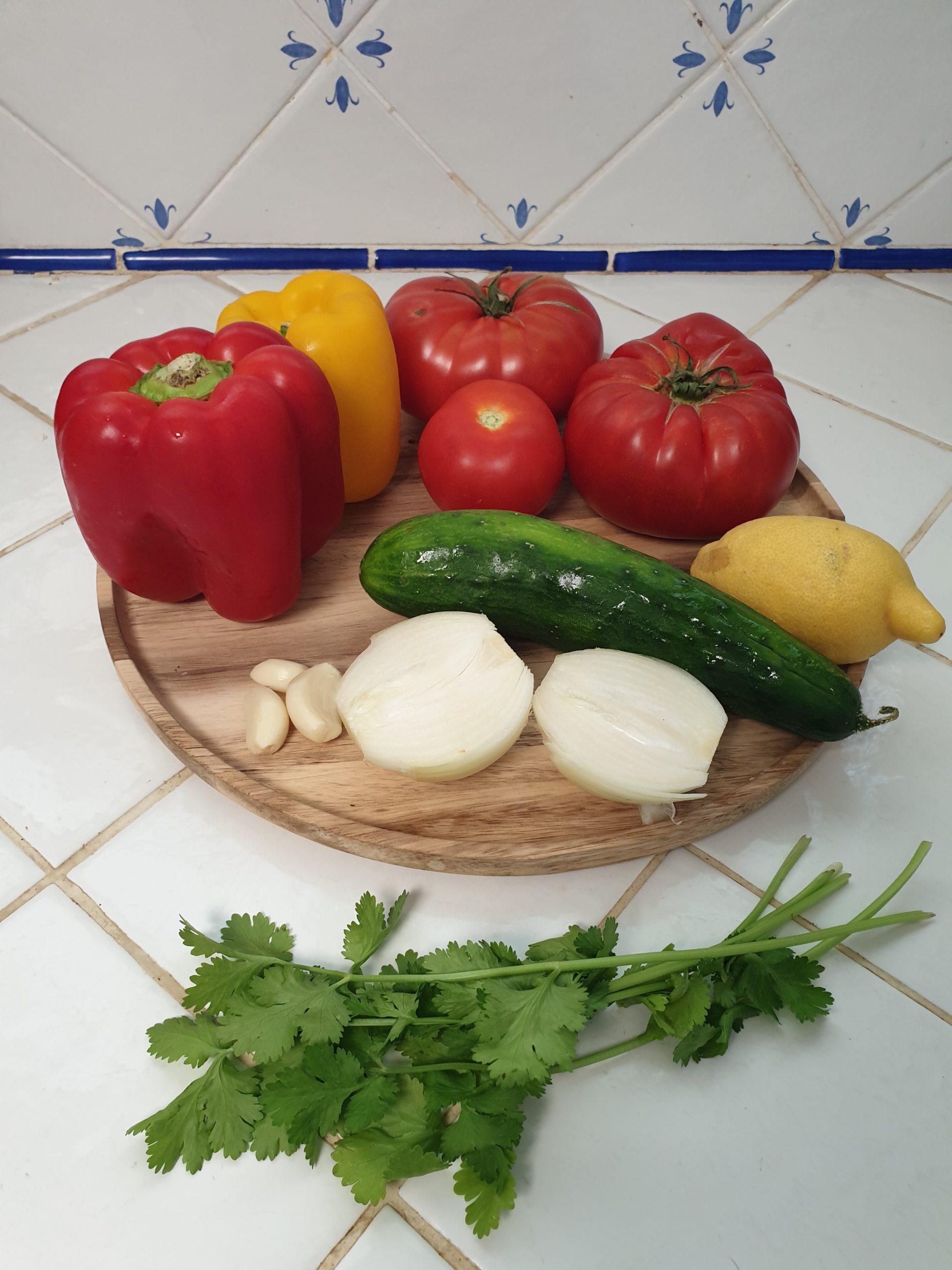 ingrédients gaspacho