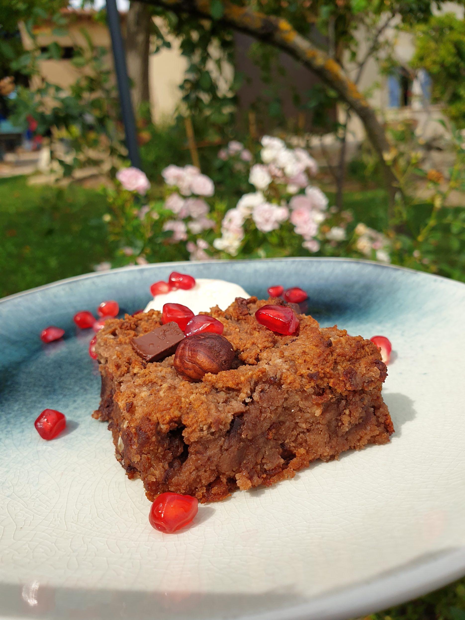 brownie vegan healthy