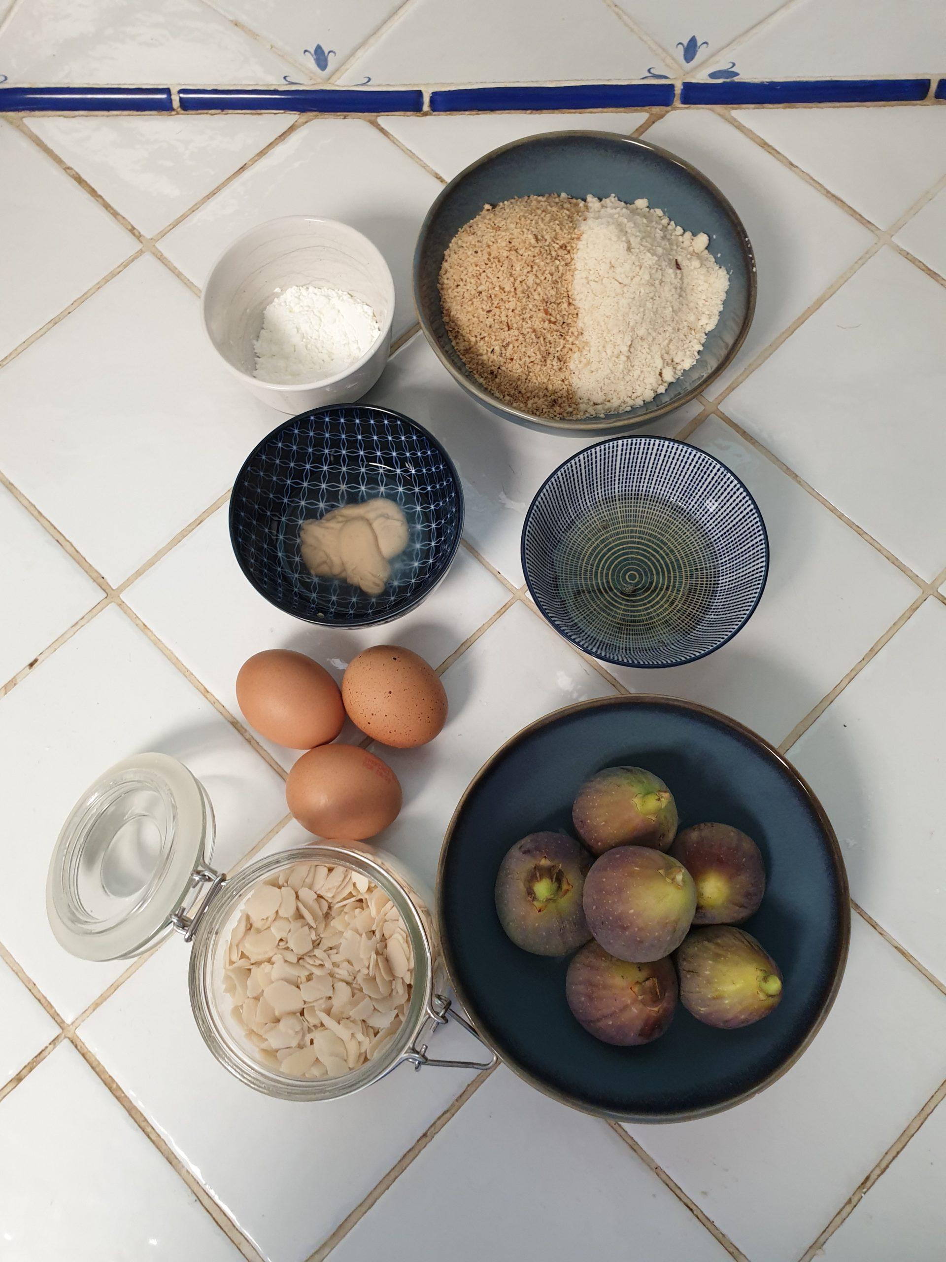 ingrédients moelleux figues