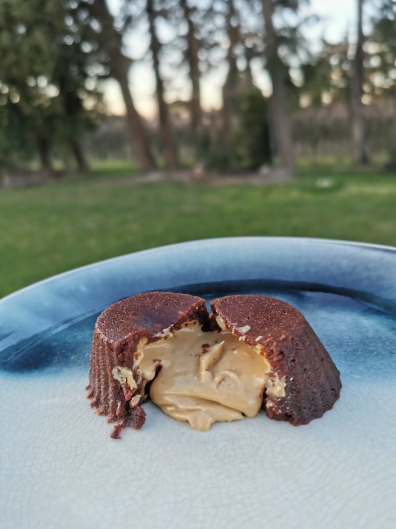 FONDANT CHOCOLAT CACAHUETE