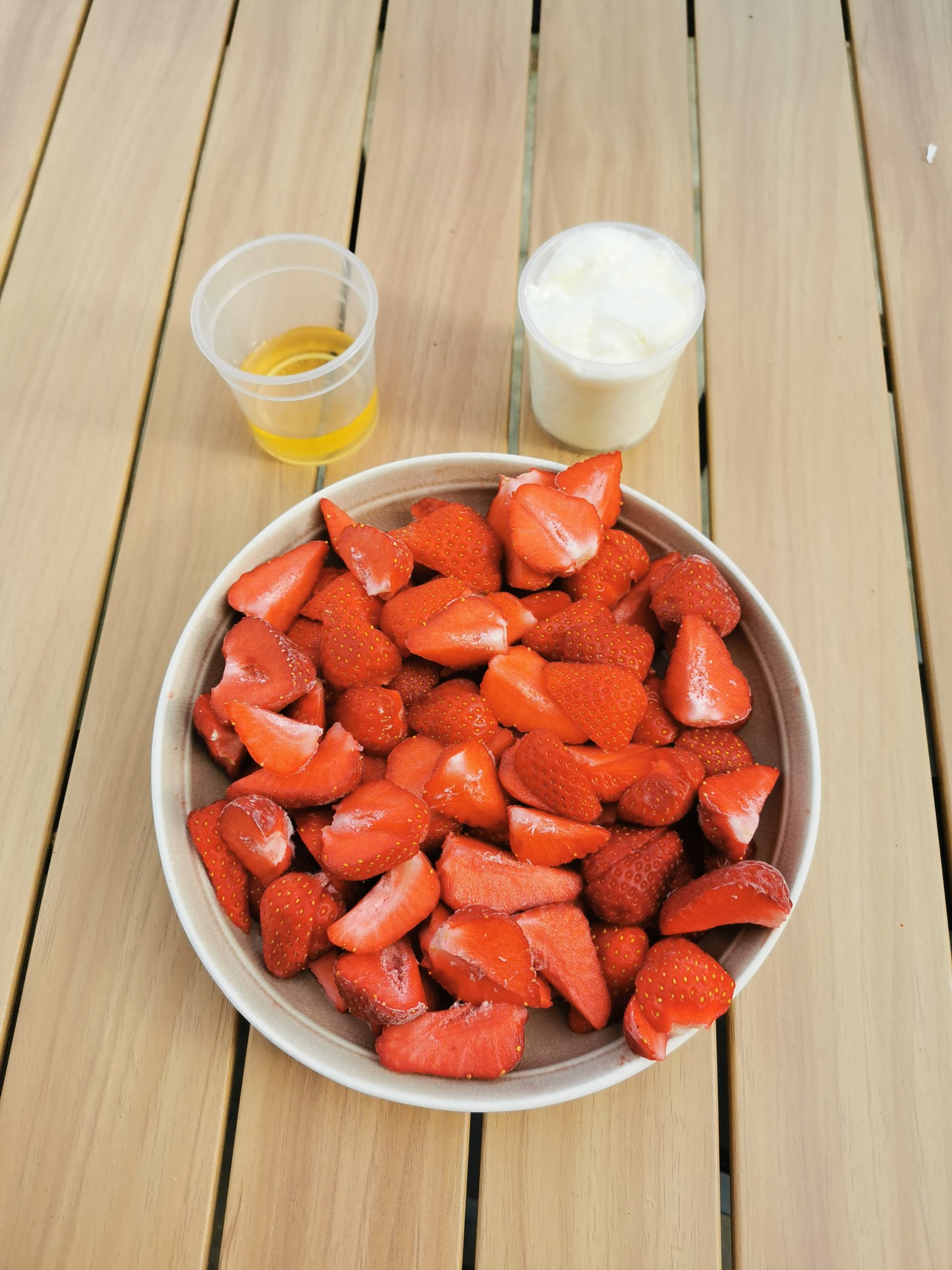 INGREDIENT GLACE FRAISE